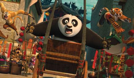 kung fu panda kino naujienos