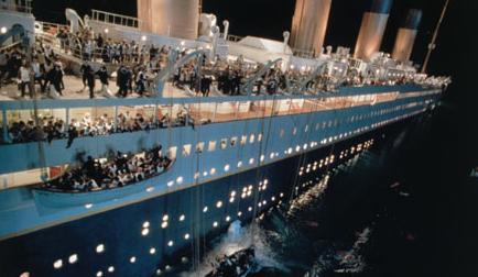 Titanikas kino naujienos