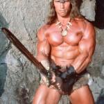 A. Schwarzeneggeris dar kartą taps Konanu