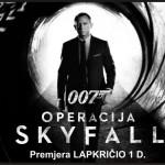 """Filmui apie Džeimsą Bondą """"007 operacija Skyfall"""" sukurta Adele daina laikoma rimta pretendente į """"Oskarą"""""""