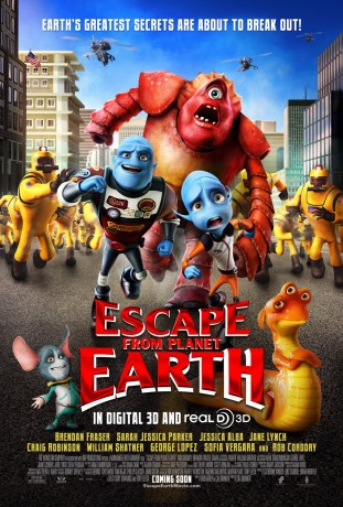 Escape from Planet Earth filmas