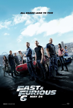 The Fast and the Furious 6 filmas